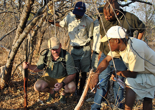 Tracking poachers