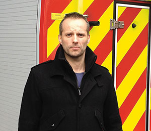 David Burn firefighter