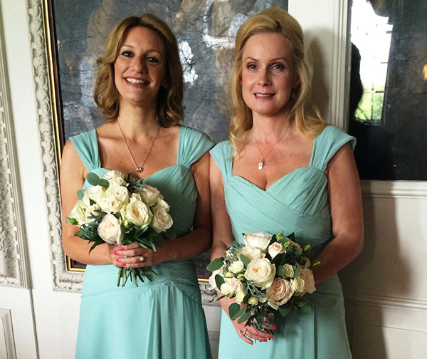 The best friend bridesmaids