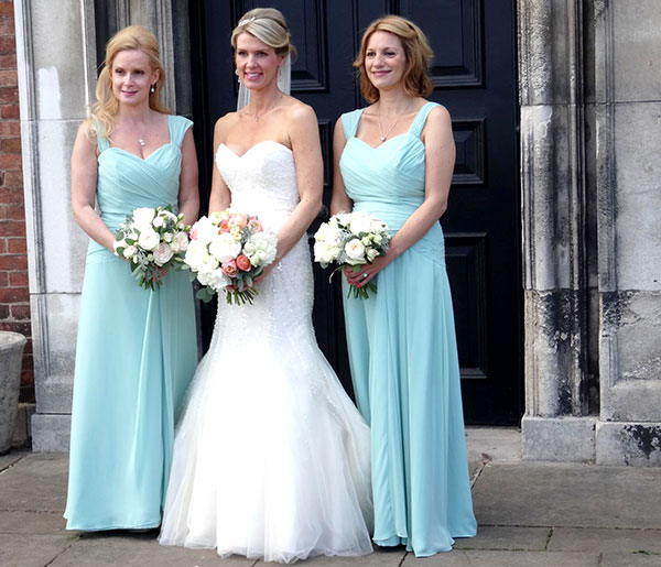 Jane and her bridesmaids