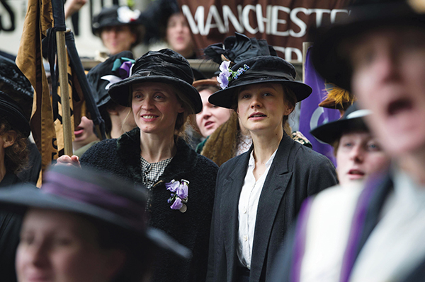 Carey Mulligan and Anne-Marie Duff in Suffragette