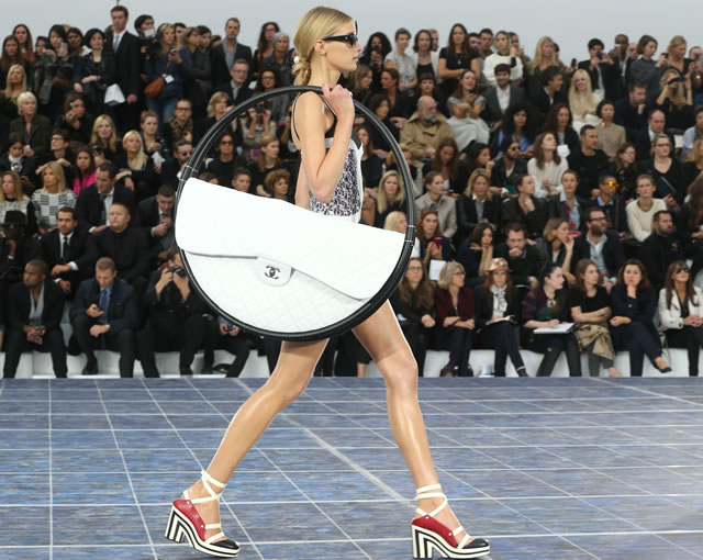 giant chanel bag