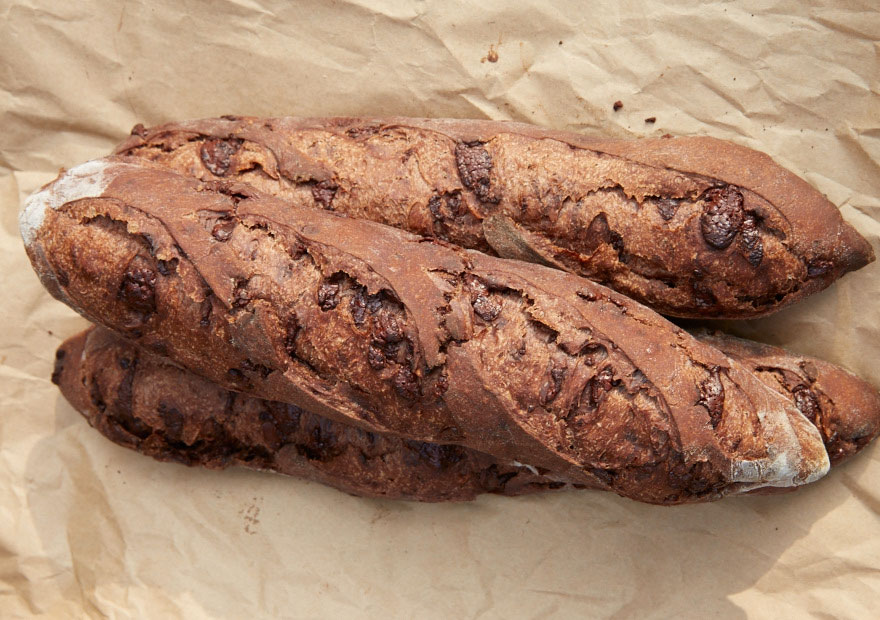chocolate baguettes