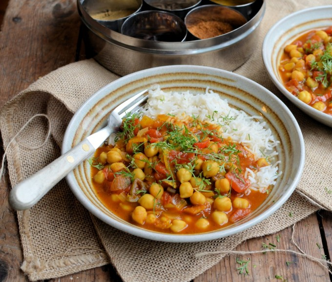 chole-chaat