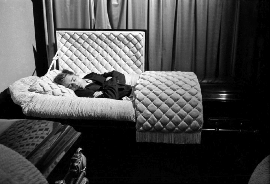 James Dean coffin