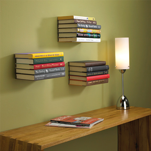 Conceal shelves