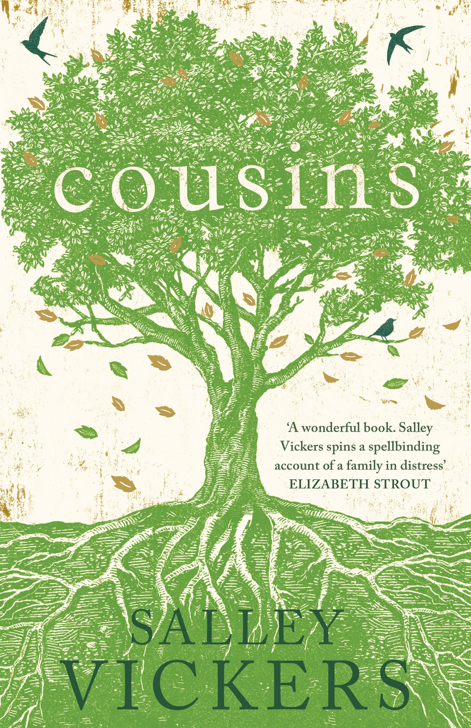 Cousins by Salley Vickers, published by Viking