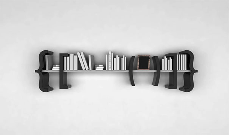 Equation bookshelf