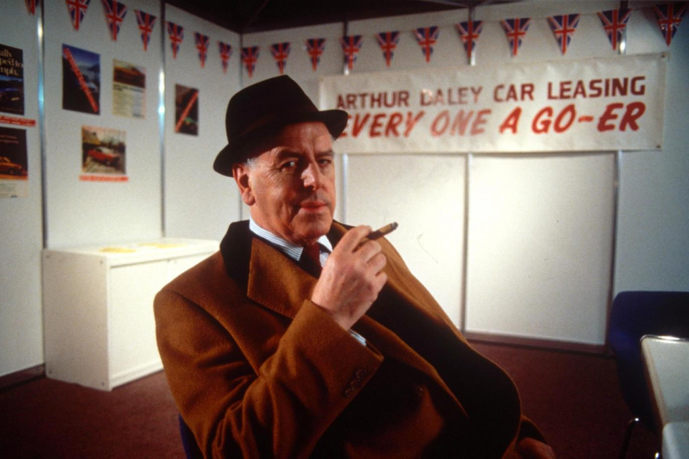 George Cole in Minder