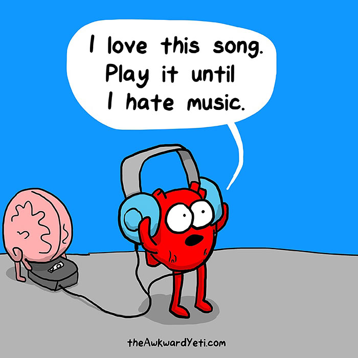 Heart and brain on music