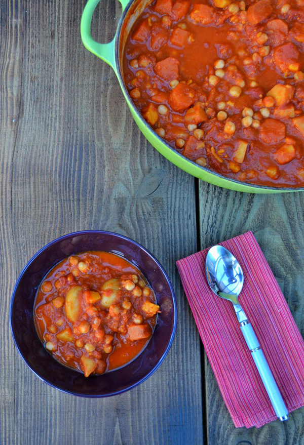 Chickpea and Sweet Potato Stew