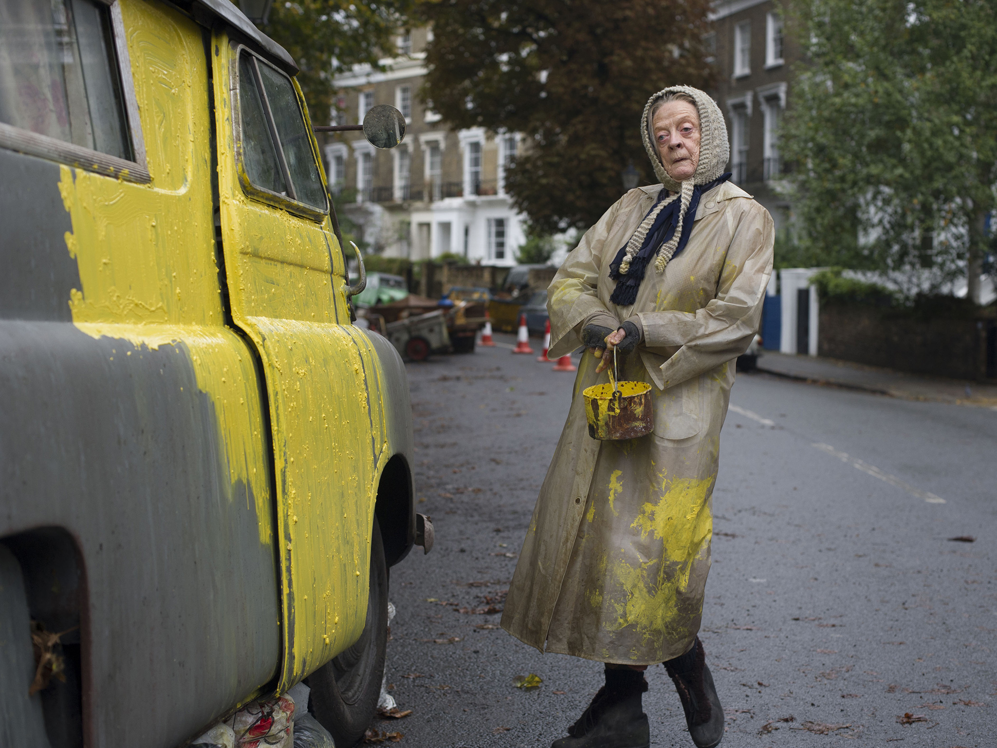maggie smith lady van
