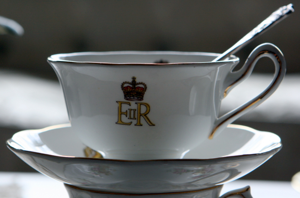 Queen Elizabeth II Coronation mug