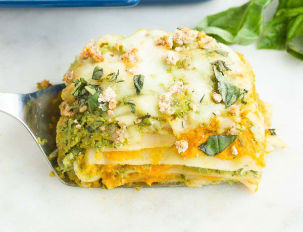 squash and lasagne