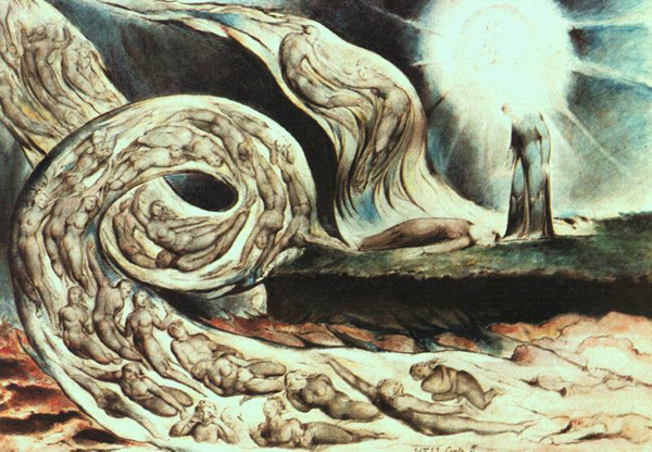 William Blake's Whirlwind of Lovers