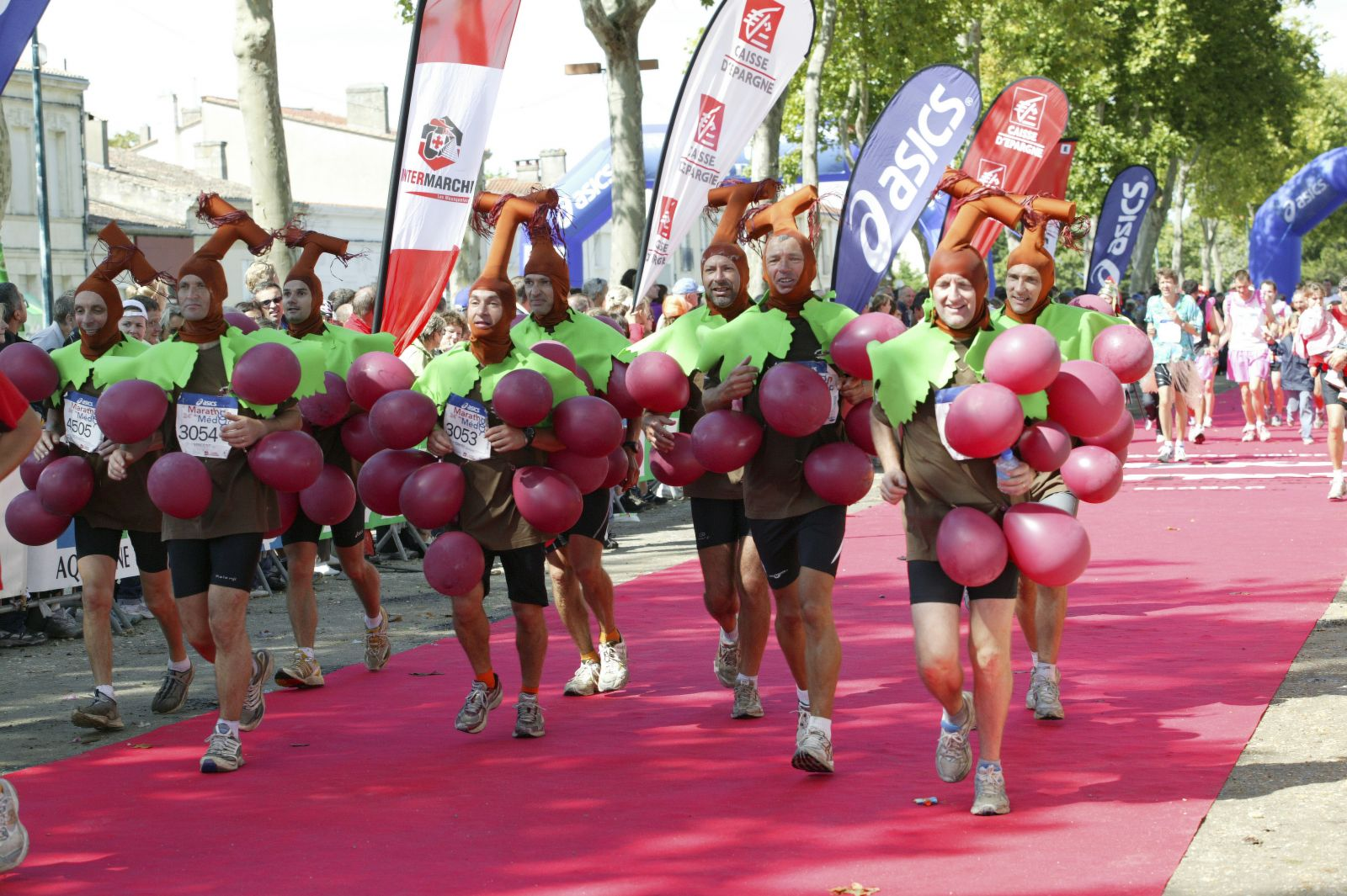 grapes running