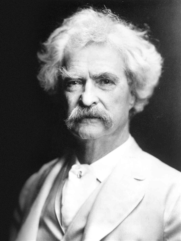 Mark Twain Literary Moustache