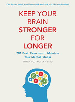 Keep Your Brain Stronger For Longer Book Jacket