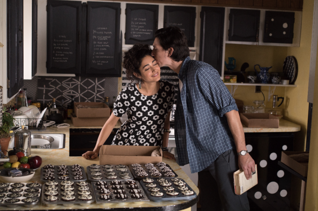 Adam Driver and Golshifteh Farahani in Jim Jarmusch's film, Paterson