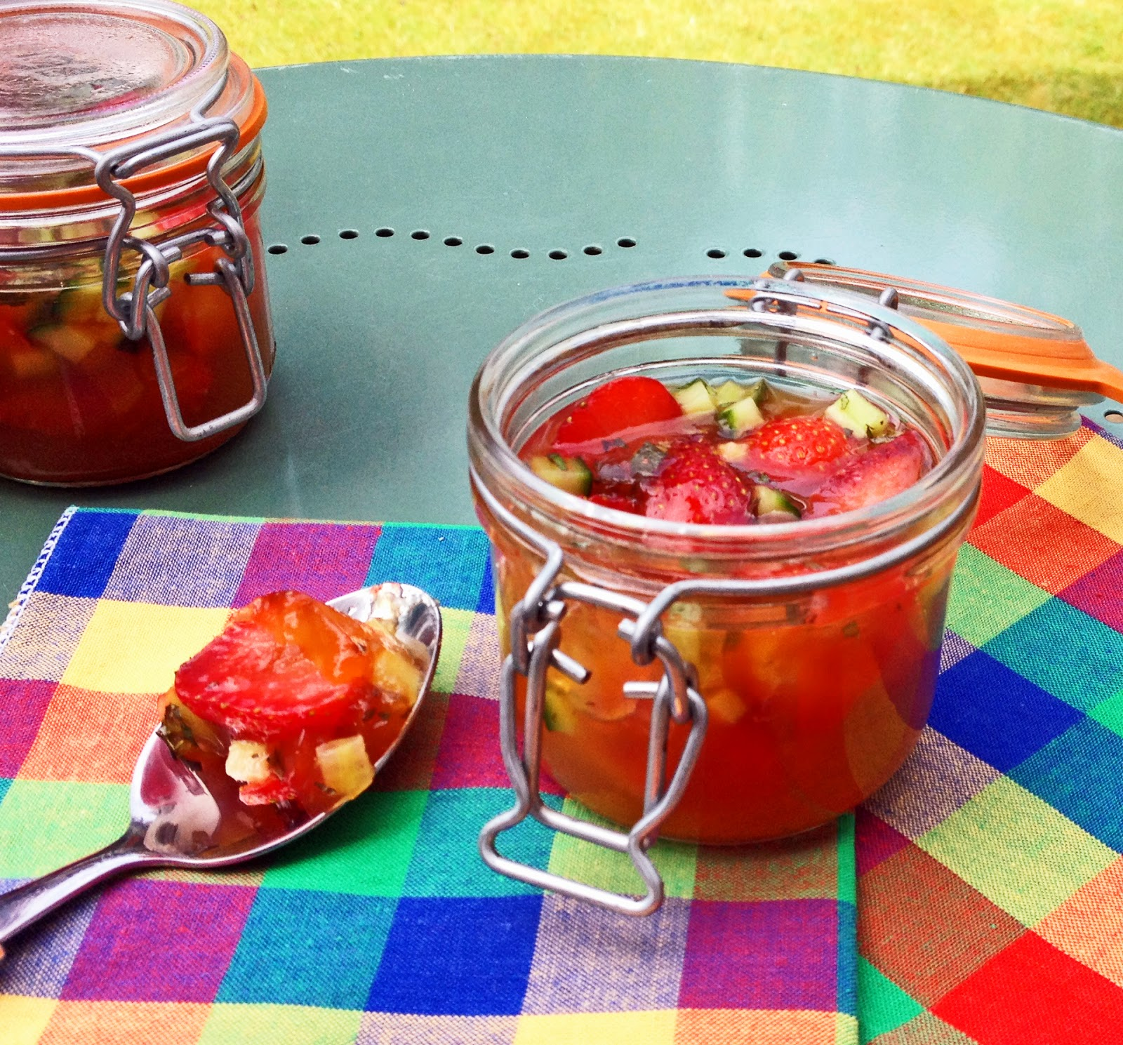 Pimms jelly jars