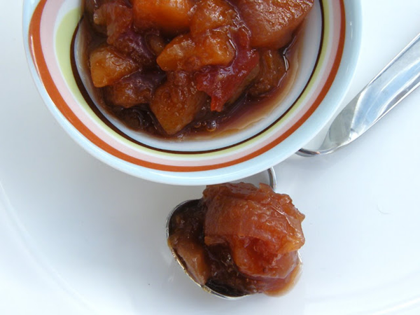 Chunky Plum and Apricot Chutney