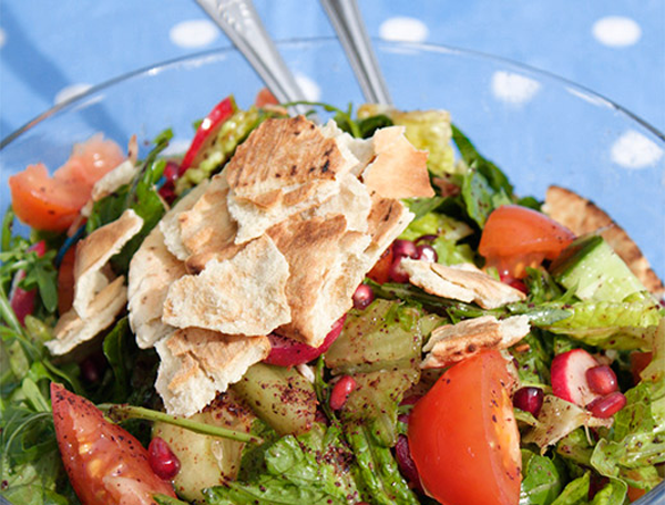 Fattoush Pomegranate Salad