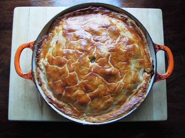 Pork and Black Pudding Pie