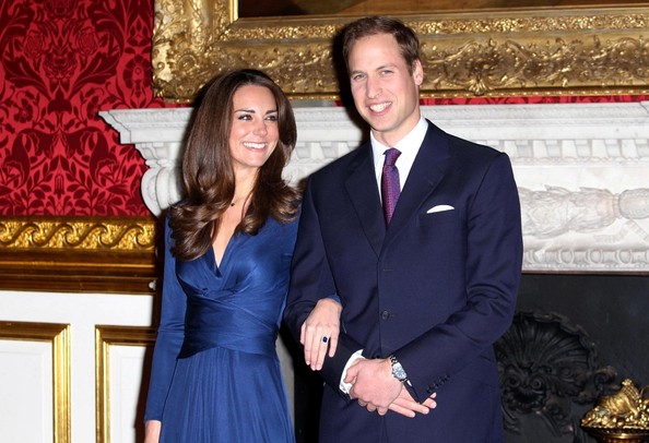 Kate and William engaged