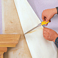 How To Wallpaper Around Radiators And Fireplaces Readers Digest