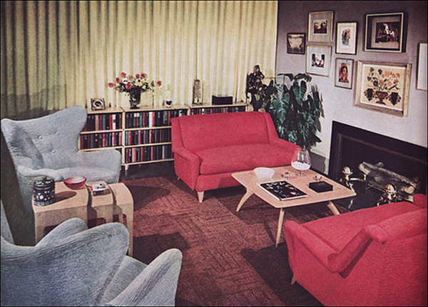 Living Room Trends From The 50s To Now Around The House
