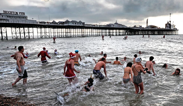 Brighton Christmas Swim