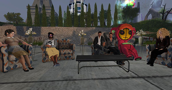Second Life virtual reality