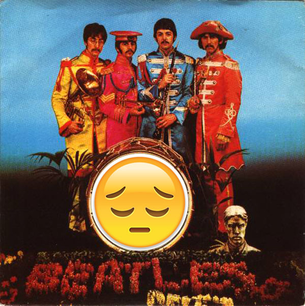 Sad Sgt Pepper's Lonely Hearts Club Band