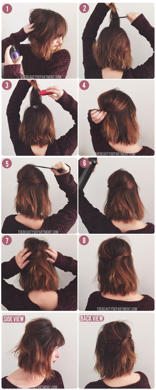 5 Easy To Follow Short Hair Tutorials Reader S Digest