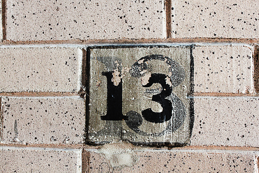 Do you personally feel that 13 is a unlucky number for 13th floor superstition history