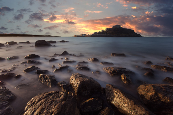 St Michael's Mount Dramatic Island
