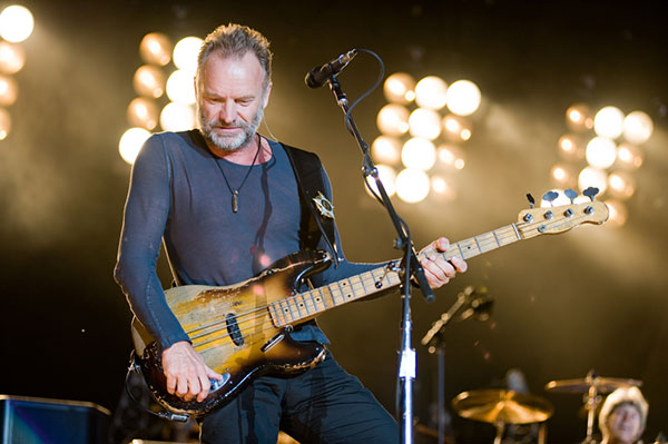 Sting - Fashion icon over 60