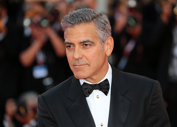 George Clooney - Fashion icon over 50
