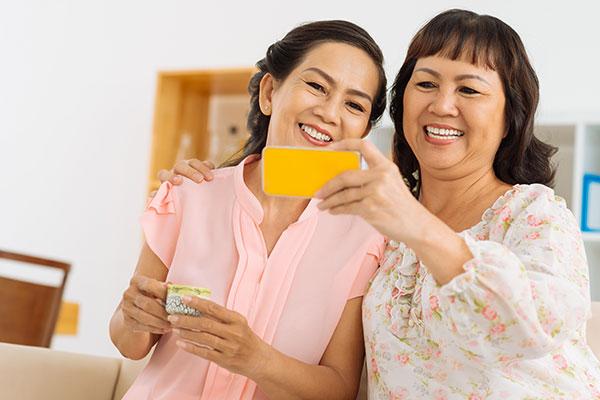 feel young asian women