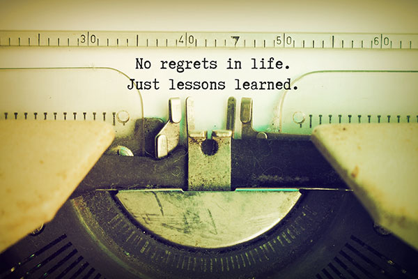 regrets in life essay