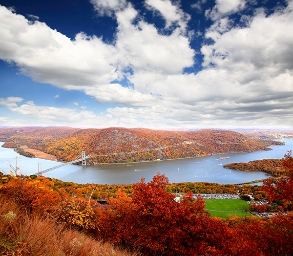 Bear Mountain park fall