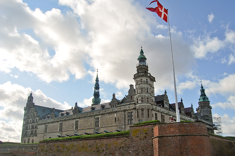 Elsinore castle Denmark Shakespeare