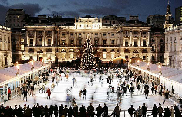 SOmerset Christmas Ice Rink