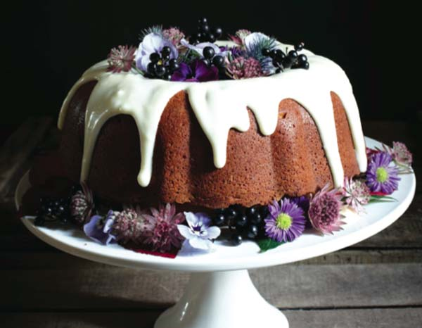 Pumpkin spiced bundt cake