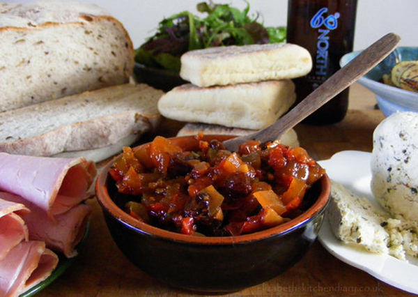 Spiced Tomato and Courgette Chutney