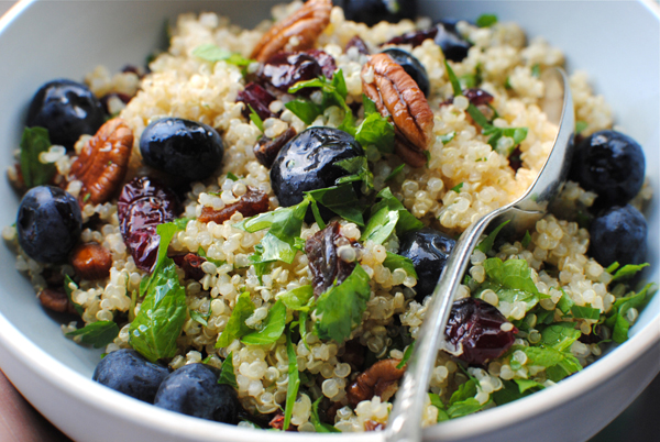 blueberry tabbouleh