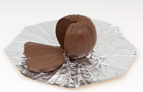 A Terry's Chocolate Orange