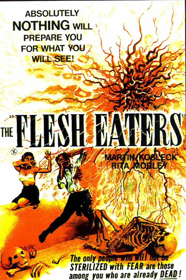 The Flesh Eaters bad tagline