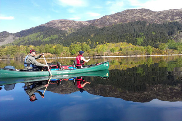 The Great Glen Canoe trail - Inverness-shire