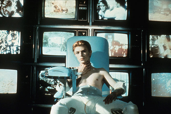 David Bowie in the Man who fell to earth